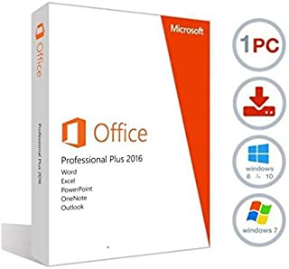 Office Professional 2016 1 PC (Lifetime Download)