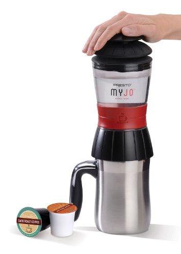 Presto 02835 MyJo® Single Cup Coffee Maker, Black