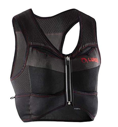 Lurbel Pro Line Kylie Pro Veste de course à pied, veste d'hydratation, sac à dos léger jusqu'à 4 litres, gilet textile pour course à pied. Pour femme et homme. (S - Petite taille)