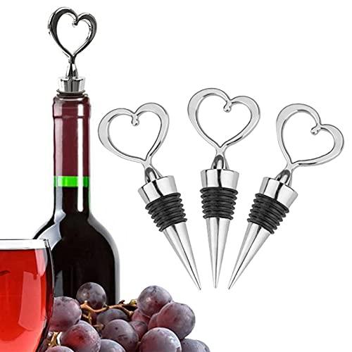 Tapones de vino Vacuvin, tapones delicados para botellas de vino, protección del medio ambiente saludable para hoteles para champán
