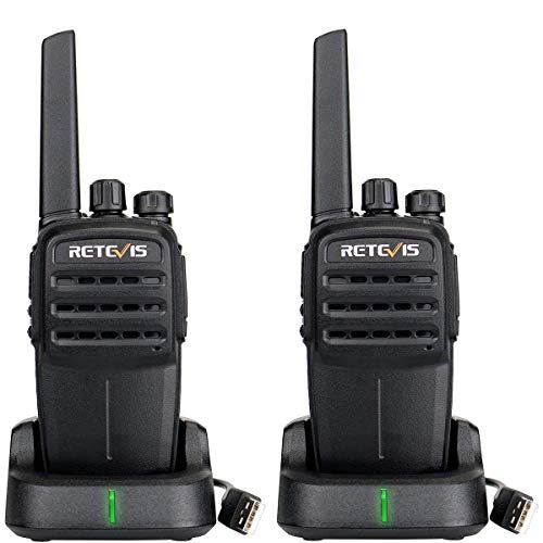 Retevis RT40 Walkie Talkie, DMR Digital/Analógico, 48 canales PMR446 sin Licencia, Alcance de Hasta 4 KM, VOX SCAN, Walkie...