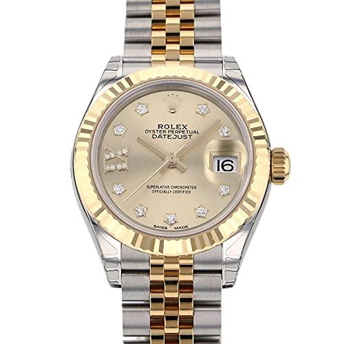 ロレックス ROLEX デイトジャスト 28 279173G シャンパン(IXダイヤ) 文字盤 腕時計 レディース (W186145) [並行輸入品]