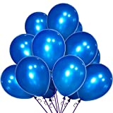 12inch Blue Party Balloons pack,...