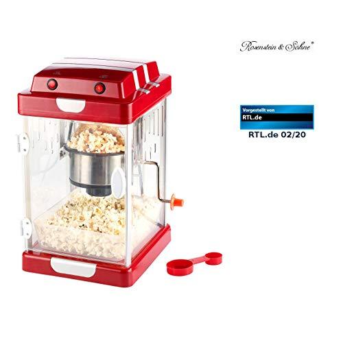 """Rosenstein & Söhne Popcornmaschinen: Retro-Popcorn-Maschine\""""Movie\"""" im 50er-Jahre-Look (Popcornmaschine Retro)"""
