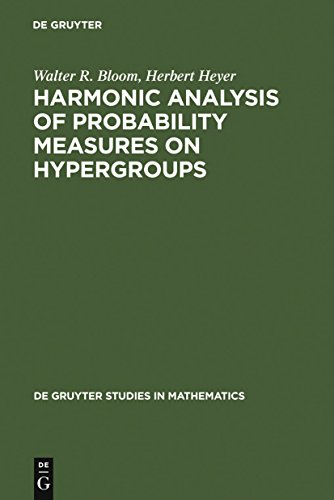 Harmonic Analysis of Probability Measures on Hypergroups (De Gruyter Studies in Mathematics Book 20) (English Edition)