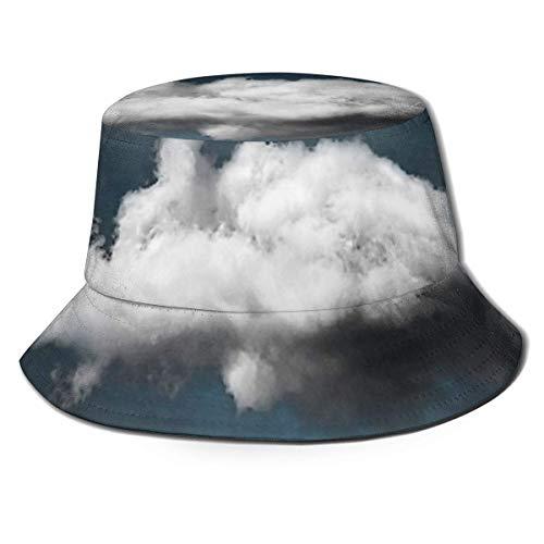 asdew987 Waiting Magritte Flat Top Atmungsaktive Bucket Hüte Reise Fischerhut Unisex Strand Sonnenhut