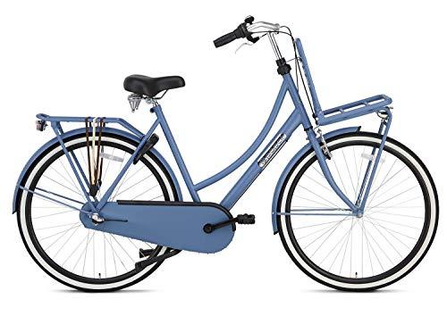Fahrrad Popal Daily Dutch Basic+ 28 Zoll 57 cm Damen 3G Rücktrittbremse Blau