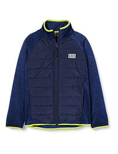 LEGO Wear Jungen LWSAM FLEECEJACKE Jacke,, per pack Blau (Blue 565), 128 (Herstellergröße: 128)