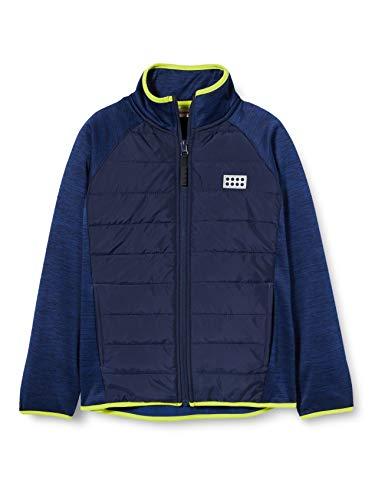 Lego Wear Jungen Lwsam Fleecejacke Jacke, Blau (Blue 565), (Herstellergröße: 134)
