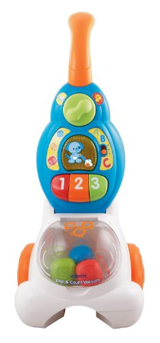 VTech Pop and Count Vacuum