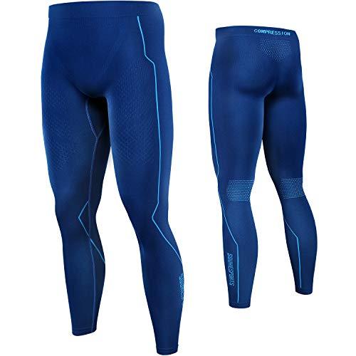 Souke Sports - Mallas Compresion Hombre, Leggings Hombre Deporte para Ejercicio Gimnasio Entrenamiento Cruzado Correr Pilates Ciclismo
