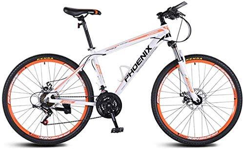 MJY Bicicletta da 21 velocità, telaio in lega leggera di alluminio, forcella anteriore ammortizzante, freni a disco Kone, bici da strada fuoristrada per studenti uomini donne 5-27,26 pollici