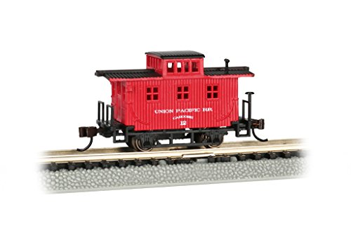 Spur N - Old-Time Wood Caboose Union Pacific