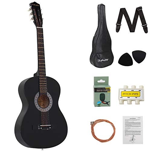 DAWOO 38-Inch Acoustic Guitar,Classic Guitar,Beginner Music Lovers Guitar...
