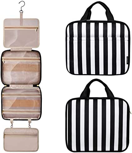 Upgraded Hanging Travel Toiletry Bag Large Cosmetic Organizer Water resistant Makeup Cosmetic product image