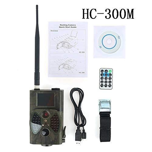 WANGMEILING Jagdkamera wildkamera HC300M HC550M HC 700G-Jagd-Kamera 12MP 940nm Nachtsicht MMS GPRS Scouting 2G / 3G-Trap-Infrarot-Trail-Kameras (Color : Light Grey, Ships from : China)