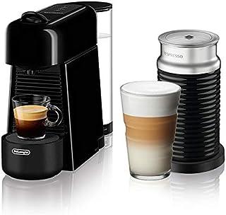 DeLonghi Nespresso Essenza Plus by De8217;Longhi with Aeroccino3, Black