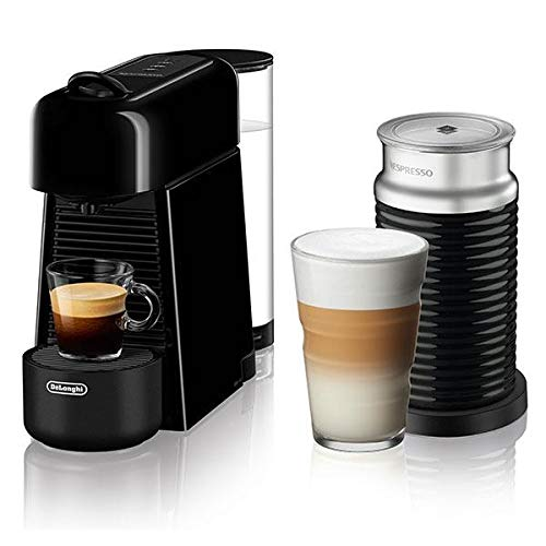 Fantastic Deal! DeLonghi Nespresso Essenza Plus by De8217;Longhi with Aeroccino3, Black