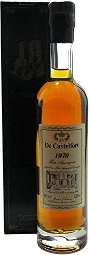 Rarität: Armagnac De Castelfort 0,2l - Jahrgang 1970 - abgefüllt 2016-46 Jahre im Fass gelagert