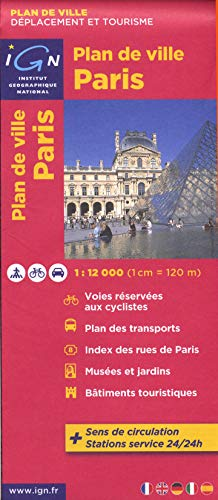 72510 PLAN DE PARIS 1/12.000