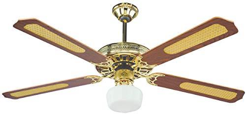 Ventilatore da soffitto 4 pale con telecomando DCG Eltronic VE CRD43 TL