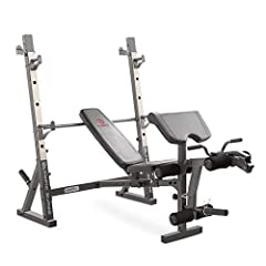 PREMIUM STEEL CONSTRUCTION – Constructed from rugged, foam, and vinyl to provide sturdy exercise gear for long usage, the surge bench is safe and comfortable. The construction is compact and stabilized to provide optimal support for daily workouts! D...