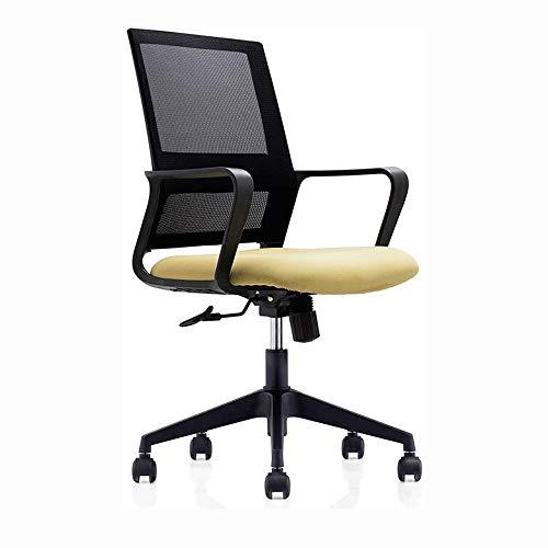 Ergonomische stoel - Modern High-Back bureaustoel -Computer Stoel- verstelbare stoel ademend Mesh Back, Black (zonder voetsteun) (Color : B)