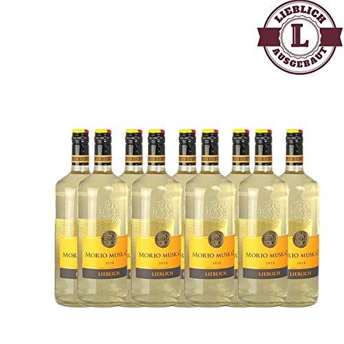 Weißwein Pfalz Morio-Muskat lieblich (9 x 1,0 l)