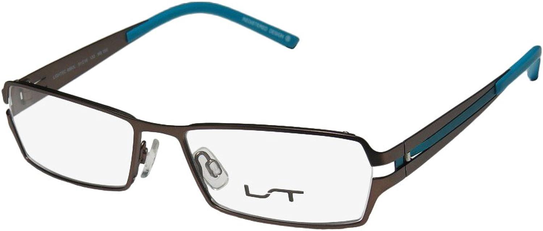 Lightec 6862l Mens Womens Ophthalmic Beautiful Designer Fullrim Spring Hinges Eyeglasses Glasses
