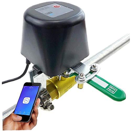 OMMO LEBEINDR DN15 Griff Ventilsteuerung WiFi Smart-Ventilsteuerung Wasser und Luftventil Universal-12V / 1A