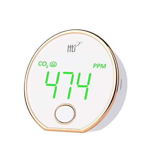 Kohlendioxid-Detektor Mit Temperatur- Und Feuchteüberwachung CO2 Konzentrationsdetektor-LED-Bildschirm Handinnenluftqualität Tester
