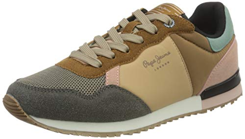 Pepe Jeans London Archie Lady, Zapatillas Mujer, 849mixing, 40 EU