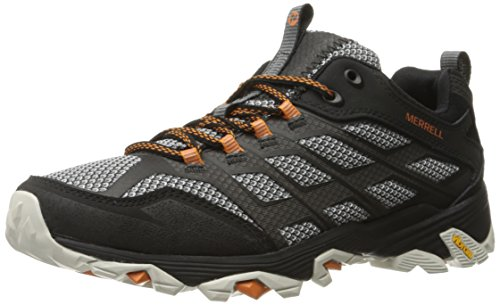 Merrell Men's Moab FST Hiking Shoe, Black, 12 M US