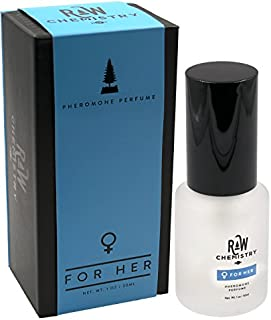 Pheromones For Women Pheromone Perfume Spray [Attract Men] - Elegance, Extra Strength Human Pheromones Formula by RawChemistry (1 Fl. Oz Spray)
