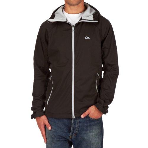 Quiksilver Herren Snowboard Jacke Roots Hoodie Softshell, Black, S, KTMSJ433-BLK