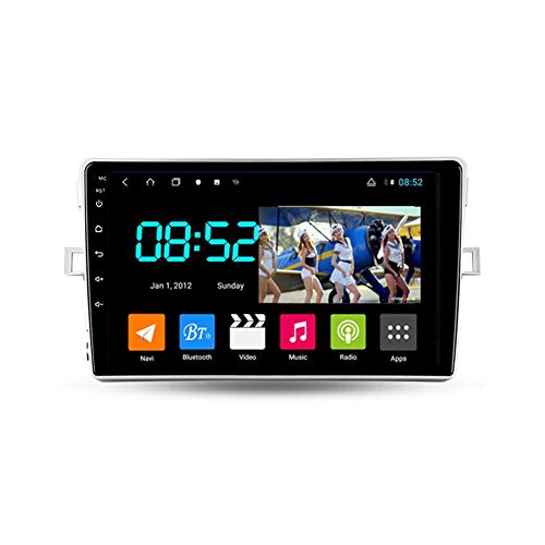 Foof Autoradio Coche Bluetooth 2 DIN Android Radio De Coche para Toyota Verso R20 9'' Pantalla Táctil WiFi Plug and Play Completo RCA SWC Soporte Carautoplay/GPS/Dab+/OBDII,Octa Core,4G WiFi 2G+32G