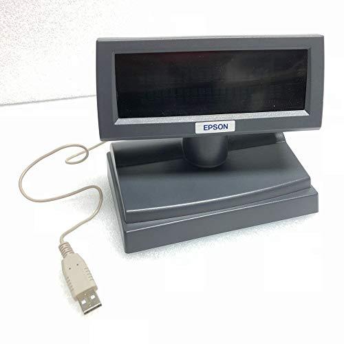 Epson Display DM-D110, USB, schwarz, Kundendisplay DM-D110 zum USB-Anschluss, A61B133EAGU