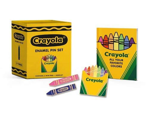 Compare Textbook Prices for Crayola Enamel Pin Set RP Minis  ISBN 9780762470532 by Crayola LLC