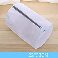 XYDLLL Mesh Laundry Bags for Washing Machine Travel Clothes Storage Net Zip Bag for Wash Bra Stocking and Underwear