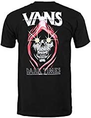 Vans Men's Dark Times SS T-Shirt Black