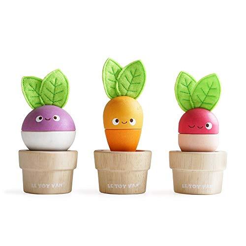 Le Toy Van Petilou Stacking Veggies