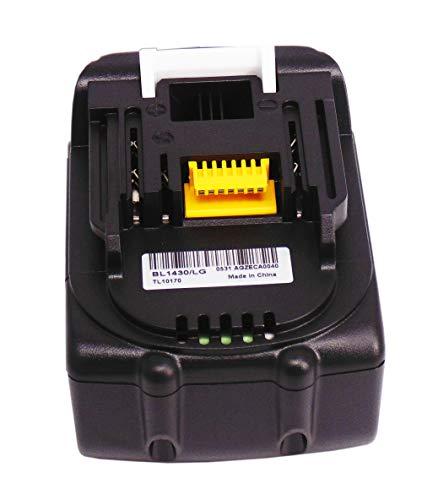 Preisvergleich Produktbild 14.4V 3.0Ah Ersetzen Werkzeug Akku für BCL140 BCL140Z BCL142 BCL142ZW BDA340 BDA340RFE BL1430 BL1415 BL1440