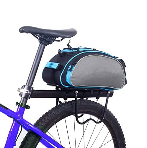 XYHLM Bicycle Rear Rack Bag Multifunctional Bike Rack Seat Bag Bike Saddle Bag Outdoor Bicycle Pannier Trunk