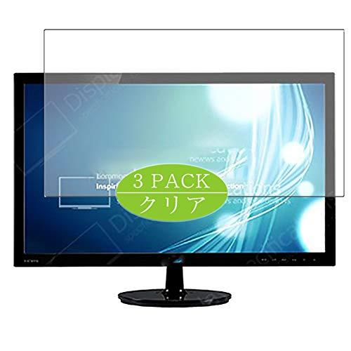 VacFun 3 Piezas Claro Protector de Pantalla, compatible con Asus VS247NR / VS247N 23.6' Display Monitor, Screen Protector Película Protectora(Not Cristal Templado) NEW Version