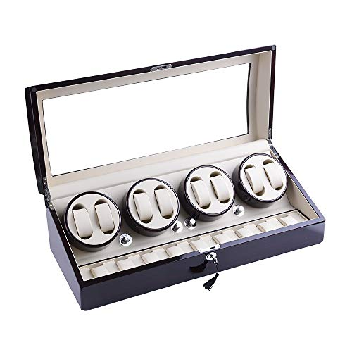XTELARY Luxus Automatische Uhrenbeweger für 8+9 Uhren