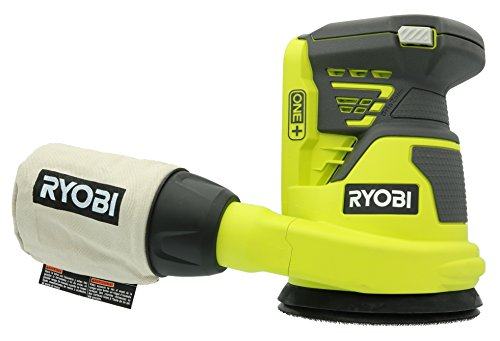 Ryobi P411 One+ 18 Volt 5 Inch Cordless Battery Operated Random Orbit Power Sander (Battery Not Included / Power Tool Only)