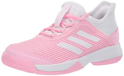 adidas Unisex Adizero Club, True Pink/White/White, 5 M US Big Kid