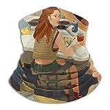 Danielleicholson Calentador De Cuello Polainas Diadema Shameless Art Pasamontanas Tubo De Nariz Bufanda Gorro Gorro Diadema Termica Multifuncional Sombreros para Hombres Y Mujeres