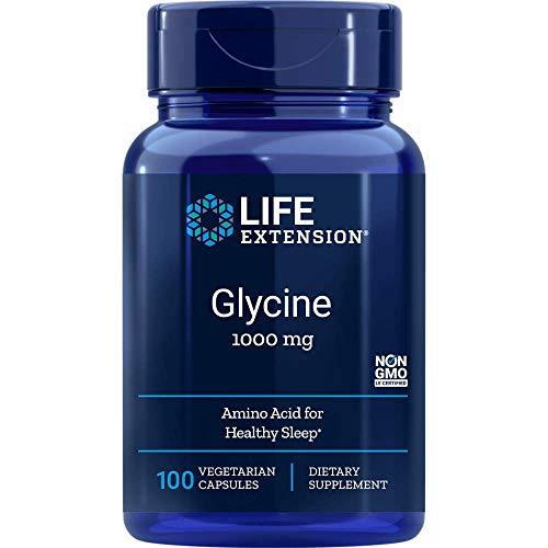 Life Extension, Glycine ( Glicina ), 1.000 mg, 100 Cápsulas vegetarianas
