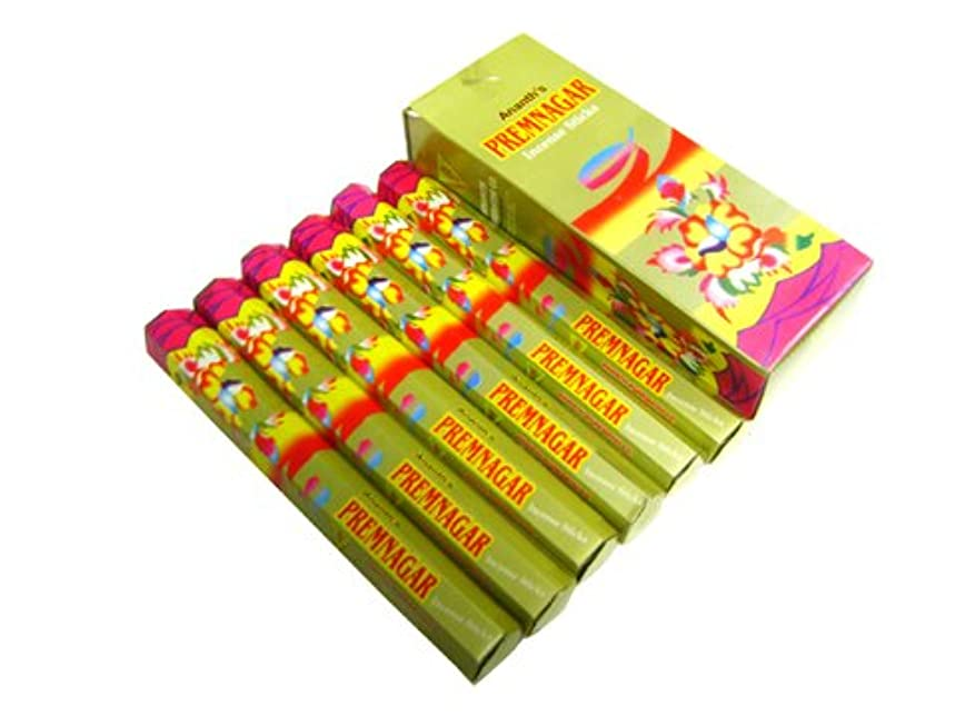 ディプロマ最適アウトドアANANTH(アナンス) リムナガル香 旧名パランパラ香 スティック PREMNAGAR (PARAMPARA) 6箱セット